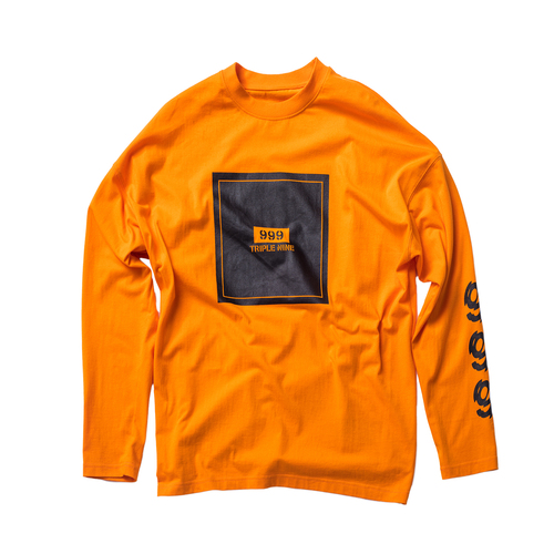 Triplenine basic orange Shirt