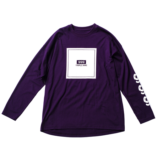 Triplenine basic purple Shirt