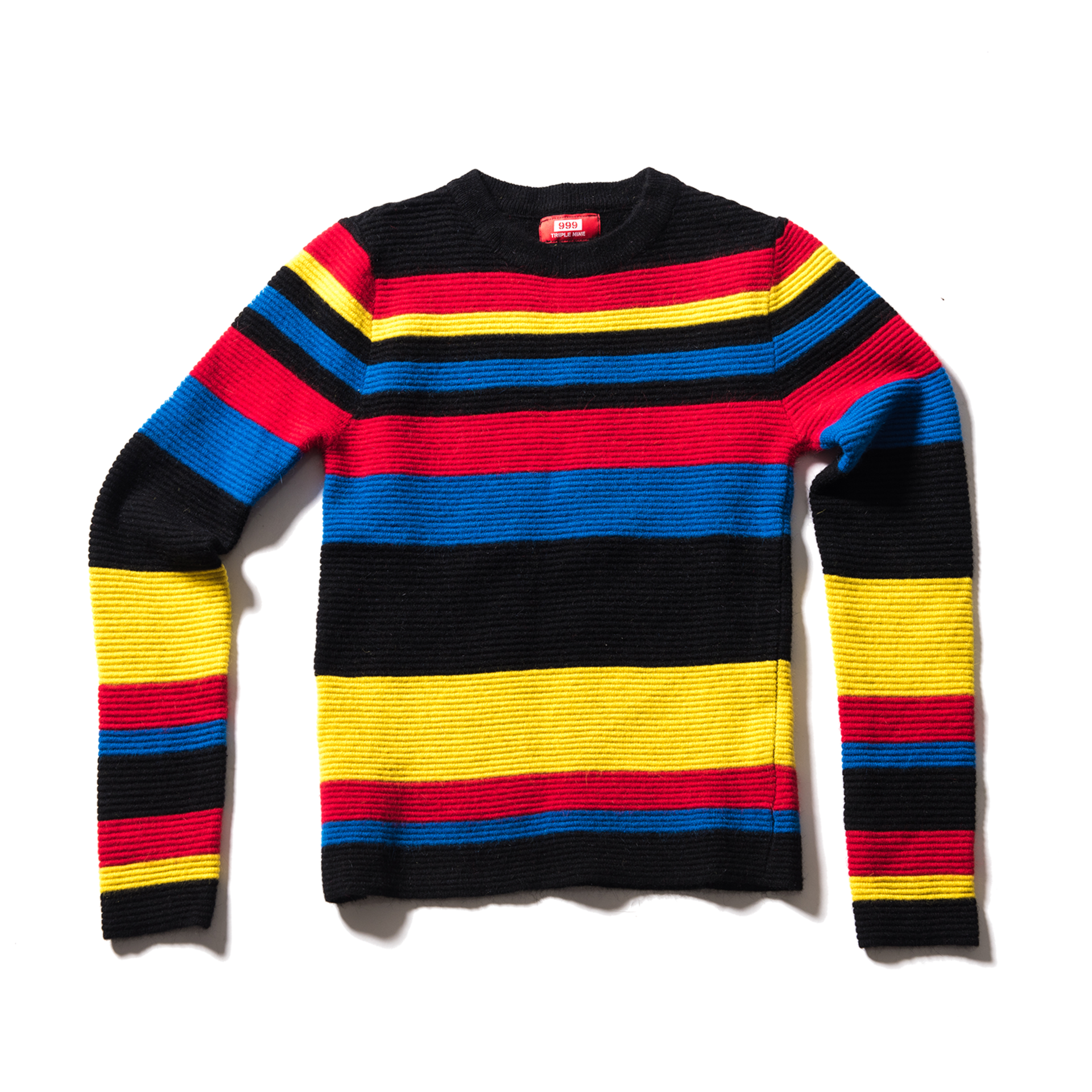 Triple Nine Rainbow knit