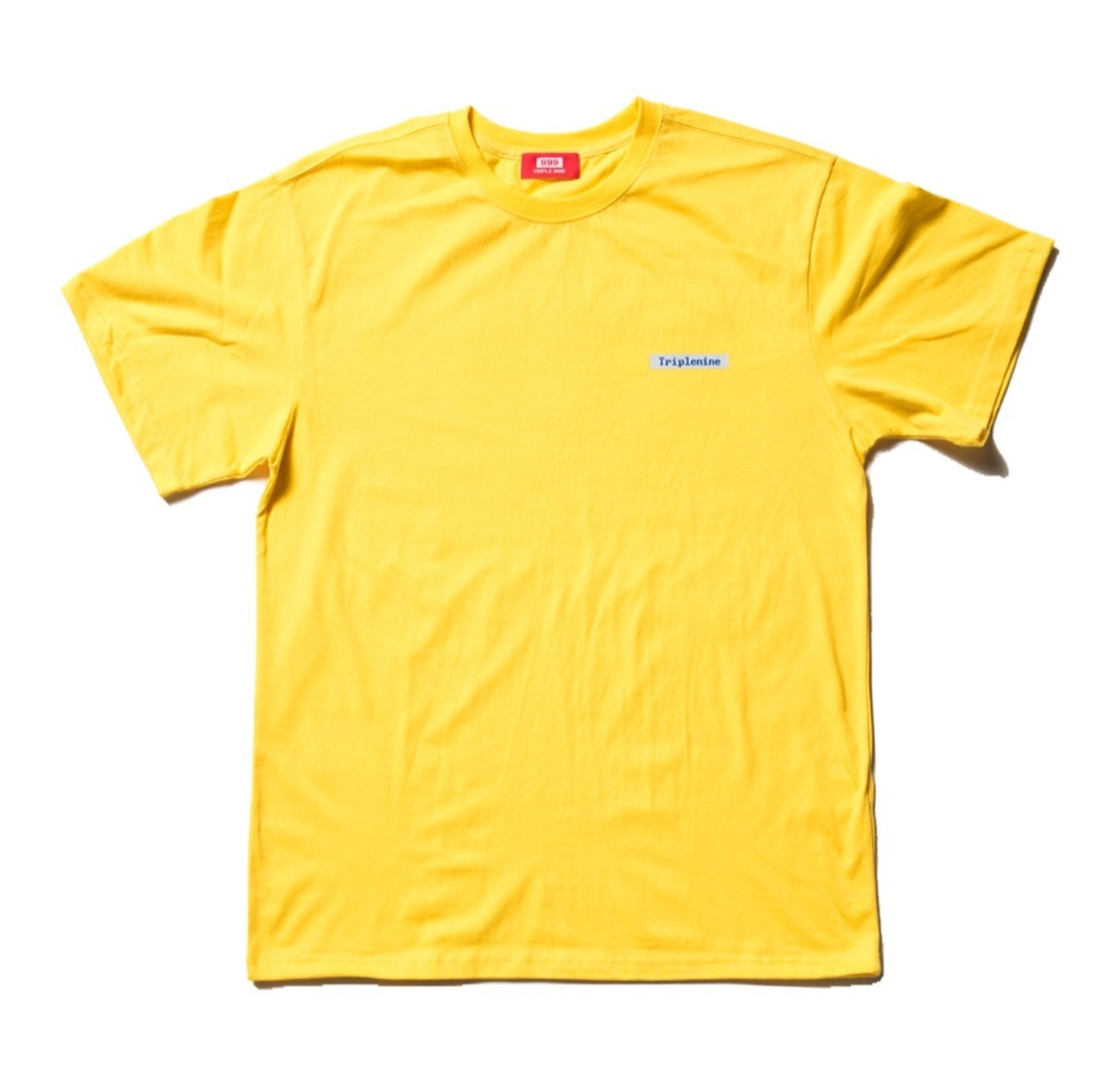 BLUE SCREEN YELLOW T-SHIRT