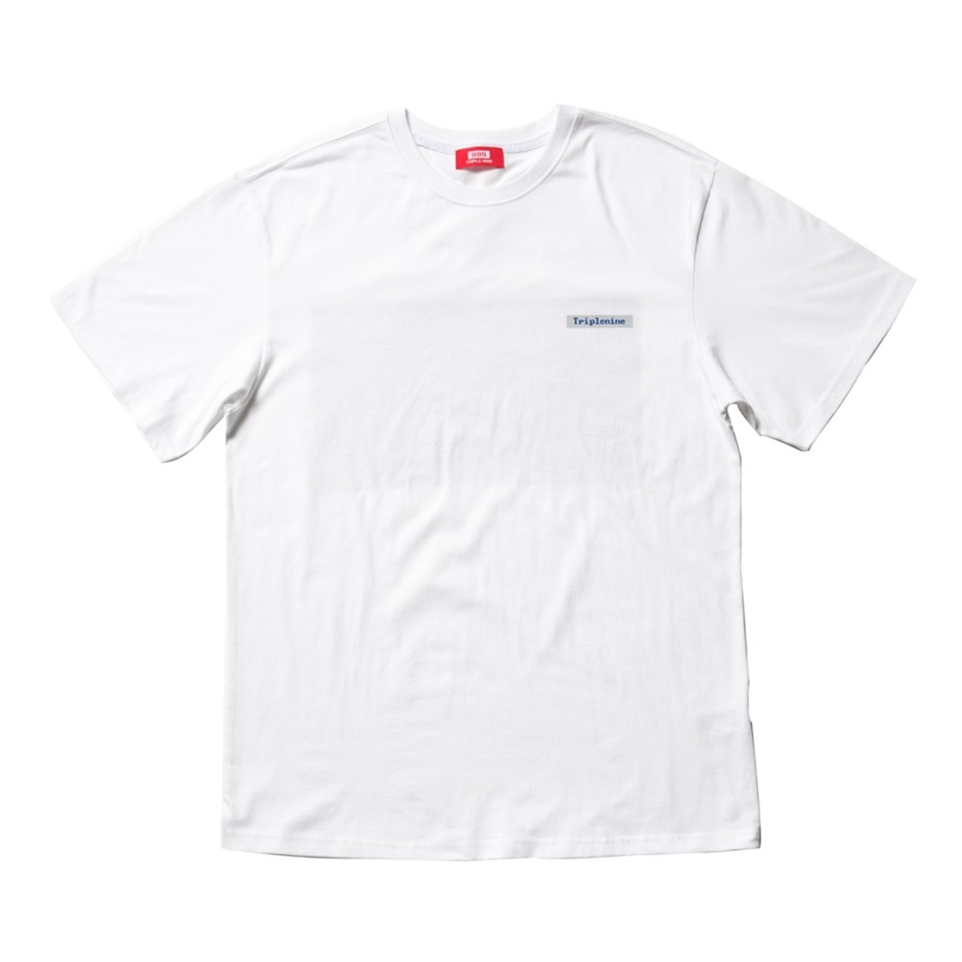 BLUE SCREEN WHITE T-SHIRT