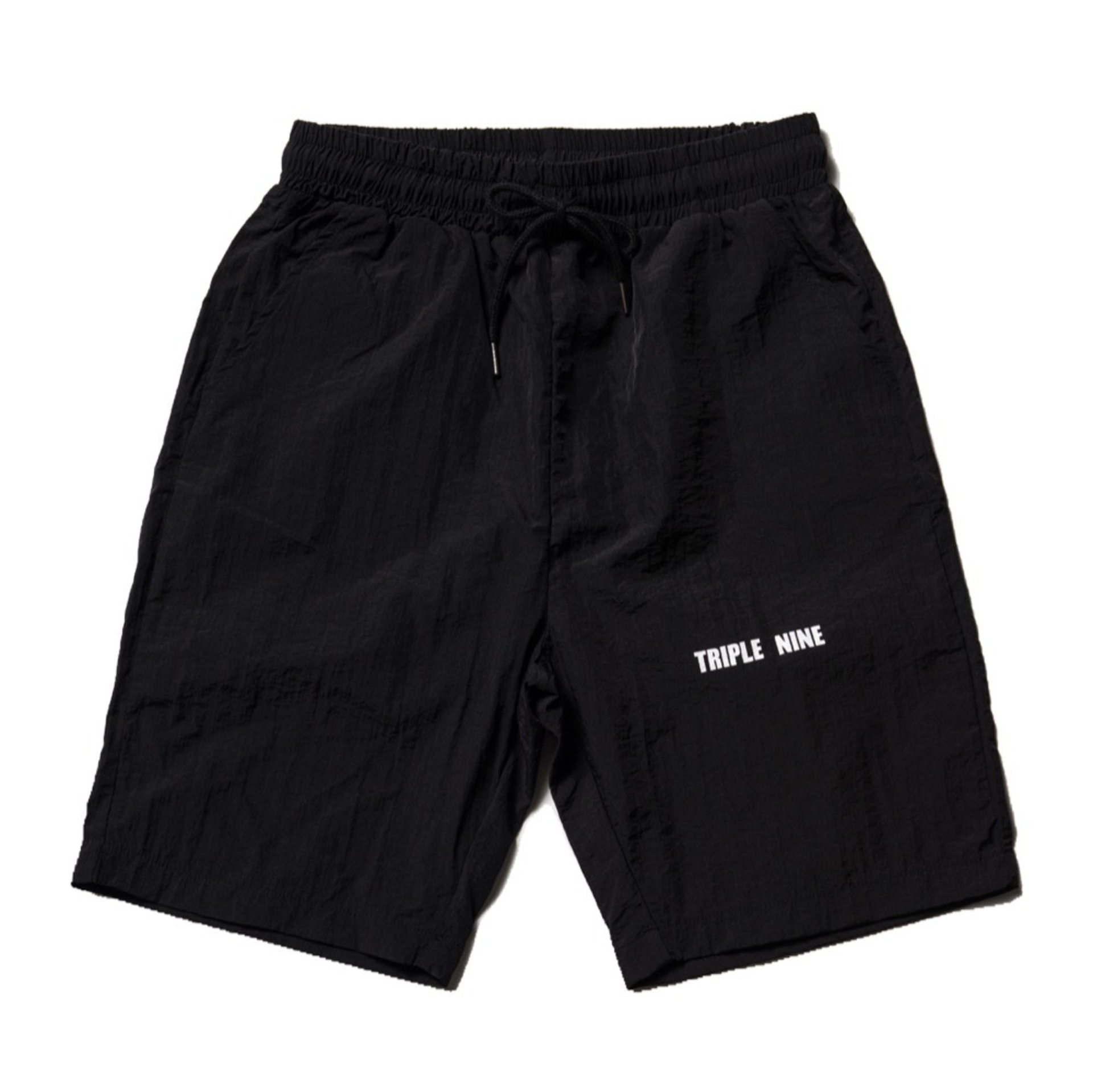 TRIPLE NINE BLACK SHORTS #1