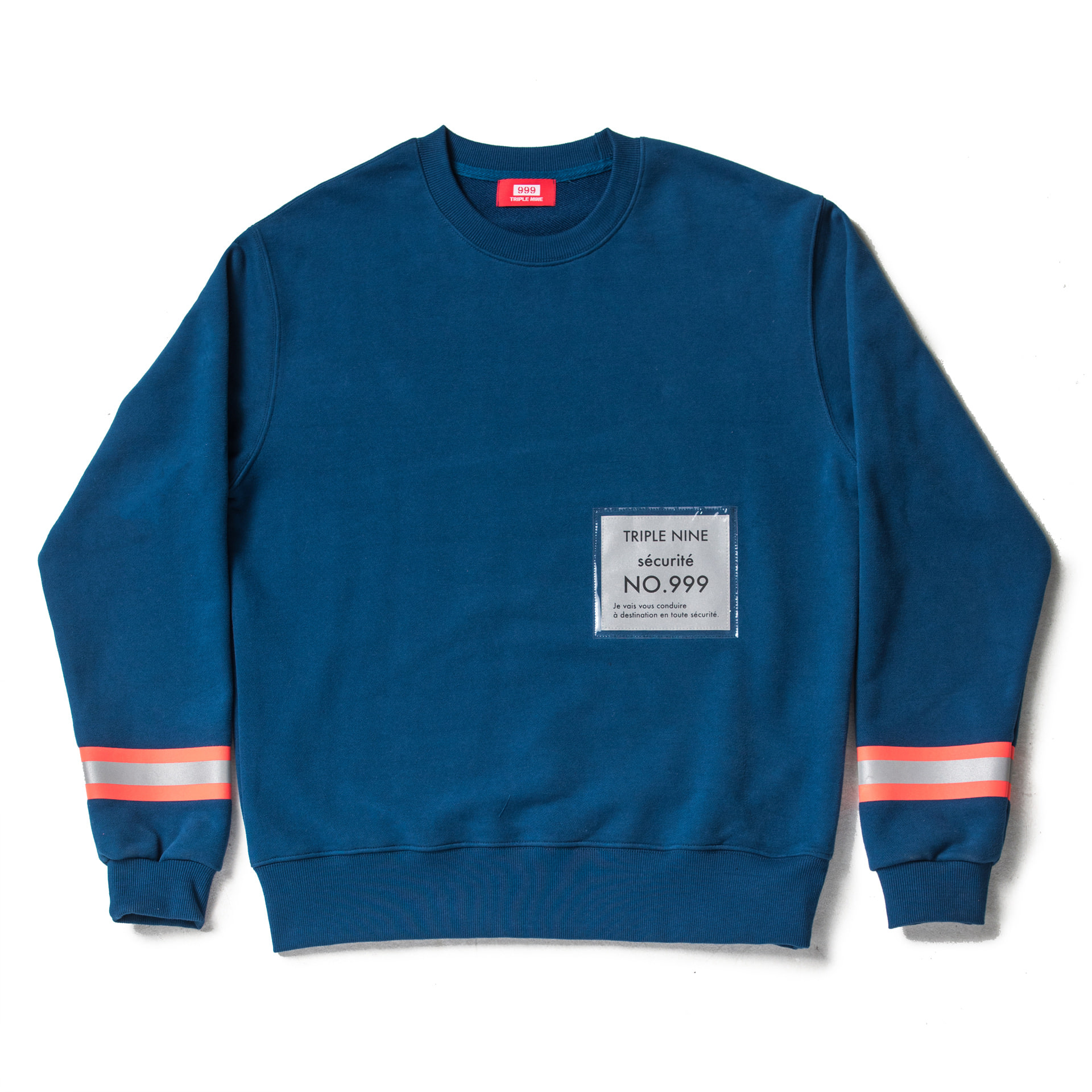 Sécurité Sweat Shirt (Blue)