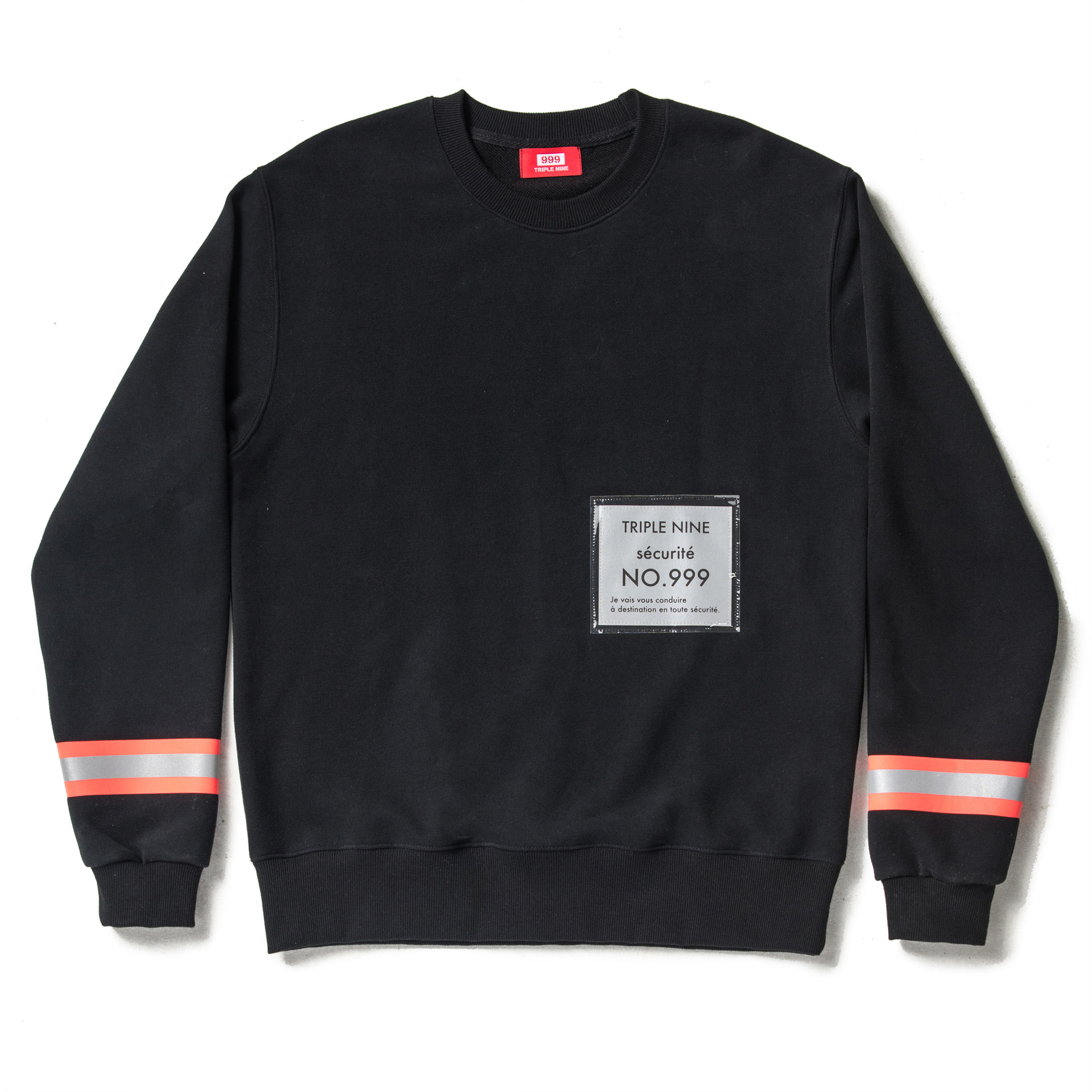 Sécurité Sweat Shirt (Black)